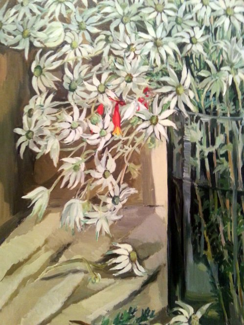 Flannel Flowers by Margaret Preston